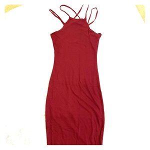 NWOT Fashion Nova Midi Dress